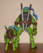 Игрушки и фигурки TMNT общая тема  - черепашки ниндзя 2007 леонардо 3.jpg