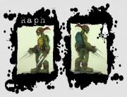 Игрушки и фигурки TMNT общая тема  - черепашки ниндзя рафаэль 2.jpg