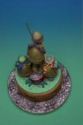 Изображения TMNT, их символика и т.п. на различных предметах - черепашки ниндзя торт 2.jpg