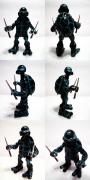 Игрушки и фигурки TMNT общая тема  - черепашки ниндзя рафаэль черный костюм.png