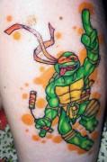 Татуировки по TMNT - черепашки ниндзя микеланджело.jpg