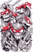 Татуировки по TMNT - черепашки ниндзя 4 зомби.jpg