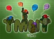 Зарубежный Фан-Арт - TMNT_25th_Anniversary_by_Rika24.png