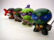 Зарубежный Фан-Арт - Teenage Mutant Ninja Turtle Dunnys (Raphael, Michelangelo, Donatello & Leonardo) by Nikejerk.jpg