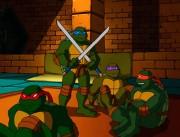 Скриншоты из мультиков - семейный вечер черепашек.jpg