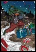 TMNT рисунки от bobr a - TMNT_happy new year_by_bobr_2009.jpg