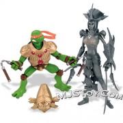 Игрушки и фигурки TMNT общая тема  - TMNT 2007 фигурки.jpg