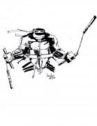 TMNT рисунки от bobr a - Michaelangelo_ink_by_bobr_2011.jpg