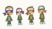 Зарубежный Фан-Арт - ba tmnt gang (color).jpg