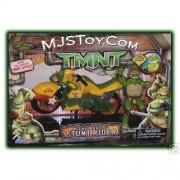 Игрушки и фигурки TMNT общая тема  - черепашка микеланджело и байк.jpg