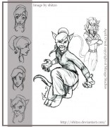 Зарубежный Фан-Арт - April_O__Neil__The_catwoman_by_Cartoon_ATF_Club.jpg