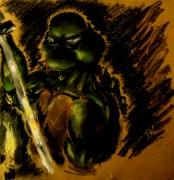 TMNT рисунки от Kaleo - Леонардо-Dark.jpg