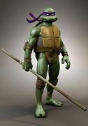 Каким должен быть облик Черепах в новом фильме 2014 ? Ваш выбор. - tmnt 3D model.jpg