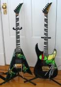 Изображения TMNT, их символика и т.п. на различных предметах - Черепашки Ниндзя - гитары.jpg