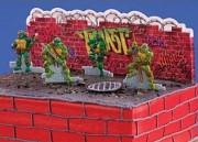 Изображения TMNT, их символика и т.п. на различных предметах - Черепашки Ниндзя - торт (2).jpg