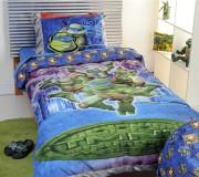 Изображения TMNT, их символика и т.п. на различных предметах - Черепашки Ниндзя - постельное белье (1).jpg