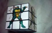 Изображения TMNT, их символика и т.п. на различных предметах - Черепашки Ниндзя - кубик-рубик.jpg