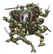 Зарубежный Фан-Арт - Teenage_Mutant_Ninja_Turtles_by_DimiMacheras.jpg