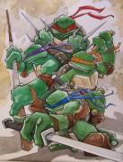 Зарубежный Фан-Арт - Teenage_Mutant_Ninja_Turtles_by_mjfletcher.jpg
