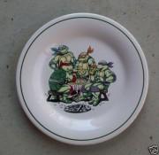 Изображения TMNT, их символика и т.п. на различных предметах - Черепашки Ниндзя - тарелка.JPG