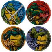 Изображения TMNT, их символика и т.п. на различных предметах - Черепашки Ниндзя - тарелки.jpg