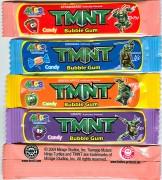 Изображения TMNT, их символика и т.п. на различных предметах - Черепашки Ниндзя - жвачка (1).jpg