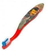 Изображения TMNT, их символика и т.п. на различных предметах - Черепашки Ниндзя - зубная щетка (2).jpg