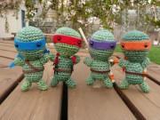 Изображения TMNT, их символика и т.п. на различных предметах - Черепашки Ниндзя - амигуруми.jpg