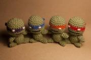 Изображения TMNT, их символика и т.п. на различных предметах - Черепашки Ниндзя - амигуруми (1).jpg
