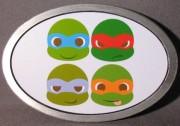 Изображения TMNT, их символика и т.п. на различных предметах - Черепашки Ниндзя - пряжка (5).jpg