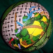 Изображения TMNT, их символика и т.п. на различных предметах - Черепашки Ниндзя - мяч.jpg