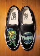 Изображения TMNT, их символика и т.п. на различных предметах - Черепашки Ниндзя - туфли (2).jpg