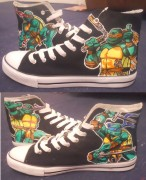 Изображения TMNT, их символика и т.п. на различных предметах - Черепашки Ниндзя - кеды.jpg
