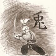 Зарубежный Фан-Арт - miyamoto-usagi-tmnt-14199189-600-604.jpg