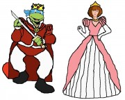 Зарубежный Фан-Арт - Prince-Leonardo-and-Princess-April-tmnt-10332606-758-606.jpg