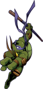 Зарубежный Фан-Арт - shellshock__Donatello__by_FREAKfreak.png