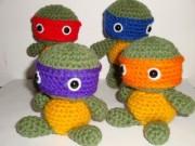 Игрушки и фигурки TMNT общая тема  - Черепашки Ниндзя - амигуруми.jpg