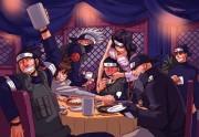 Naruto Наруто - Ируку повысили! Гулянка Джонинов.jpg