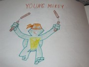 TMNT рисунки от i am sheredder123 - Young_Mikey.JPG