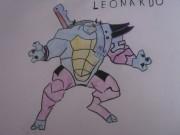 TMNT рисунки от True Ninja - Леонардо.JPG