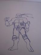 TMNT рисунки от True Ninja - Мике.JPG