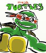 TMNT рисунки от miky - Raphic.jpg