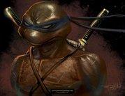 Обои TMNT - Leonardo_TMNT_Wallpaper_by_RayDillon.jpg