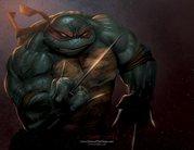 Обои TMNT - Raphael___Dawn_of_the_Ninja_by_RayDillon.jpg