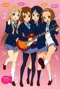 Аниме - k-on-tv-movie-poster-2009-1020525055.jpg