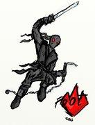 TMNT рисунки от miky - Ninja foot.jpg