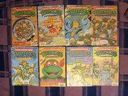 Черепашьи коллекции форумчан - tmnt_comics_fleetway_6-9,18-20,22.jpg