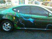 Изображения TMNT, их символика и т.п. на различных предметах - Черепашки Ниндзя - автомобиль (2).jpg