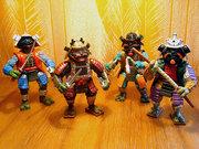 Черепашьи коллекции форумчан - tmnt_toys_old_samurais.jpg