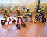 Черепашьи коллекции форумчан - tmnt_toys_mm_extreme_sports_green.jpg